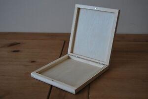 Copertura In Legno Bianco : Scatola di legno per cd bianco un copertura decoupage chiuso per