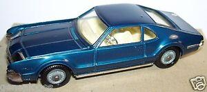 Rare Corgi Toys Oldsmobile Toronado Phares Retractables Bleu Fonce Ref 264 1967