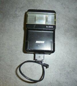 VINTAGE REVUE TRON B 200 FLASH Non Testé pour Appareil Photo Polaroid ...