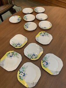 Regal-Art-Deco-Floral-Plates