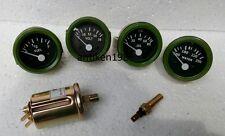 12v Electrical Gauges 52mm Oil Pressure Temp Fuel Volt With Senders