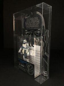 "Deflector DC® MOC Display Case Star Wars The Black Series Orange 3.75/"" Figure"