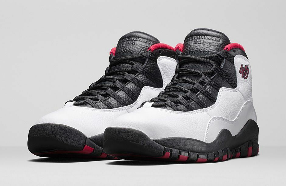 2015 Nike Air Jordan 10 X Retro DOUBLE NICKEL White Black  MEN'S Size 10.5