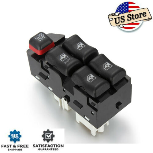 Power Window Switch For 2000-2005 CHEVROLET CAVALIER Front Left Driver 22610145