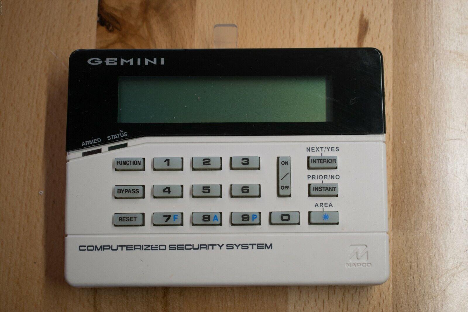 GEM-RP1CAE2 Napco Gemini Custom Alphanumeric Keypad
