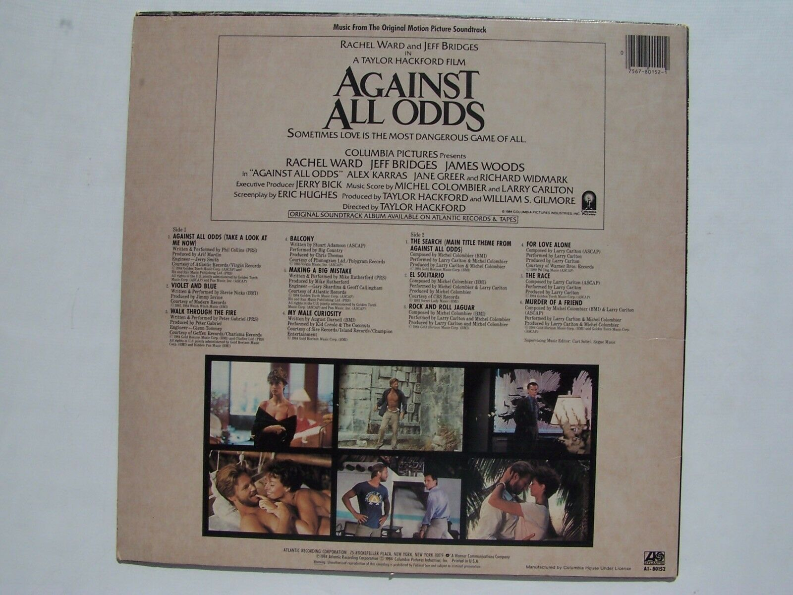 Against All Odds (Music From The Original Motion Pictur