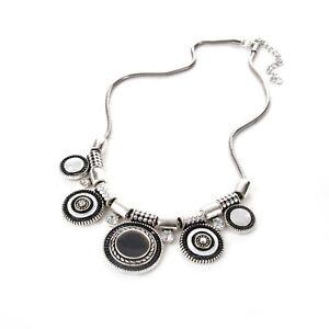 Jewelry-Pendant-Necklace-Choker-Crystal-Chunky-Fashion-Charm-Statement-Bib-Chain