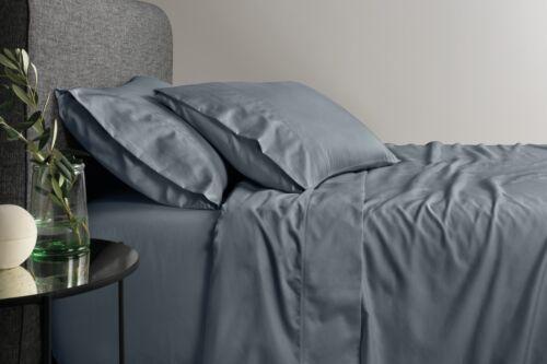 Sheridan 600tc Cotton Egyptian Blend Sheet Set Smokey Blue