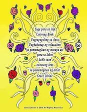 Yoga para Sa Isip Coloring Book Pagpapagaling Sa Aura Paghahanap Ng...