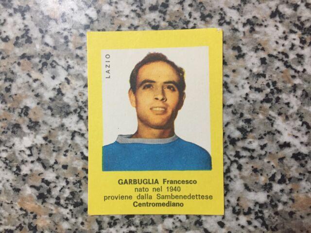 figurina CALCIATORI MIRA 1963//64 LAZIO GARBUGLIA