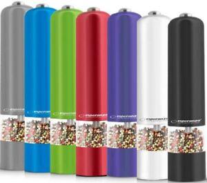 Electronic Salt Pepper Large Mill Grinder Shaker Set With