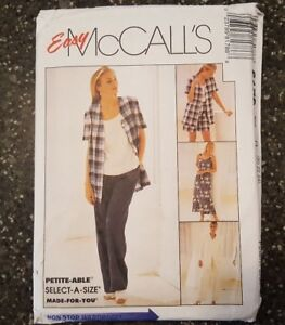McCall-039-s-8178-Jacket-Top-Skirt-Pants-Shorts-Shirt-Pattern-Size-G-20-22-24-Uncut
