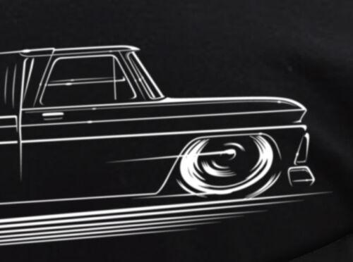 GMC Truck T-Shirt 1960-1966 Chevrolet C10 Shortbed 64 65 66 1st Gen C-10 Chevy