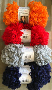 Red-Heart-Boutique-Swerve-Yarn-100g-Super-Bulky-Color-Choice-Loom-Knit-Crochet