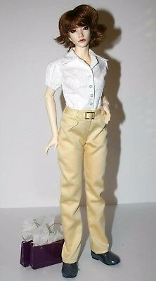 Short Sleeve Top and Pants for 45.5cm Iplehouse FID BJD Dolls