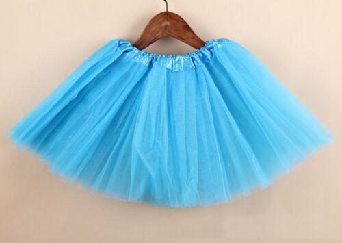 Stylish  2-7 Y Toddler Girls Dance Short Mini Tutu Bubble Pettiskirt Dress