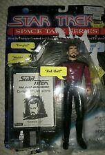 STAR TREK SPACE TALK SERIES TNG COMMANDER WILLIAM RIKER FIGURE1995 Used Working