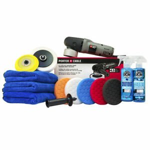 Chemical-Guys-BUF-209-Porter-Cable-7424XP-Complete-Detailing-Kit-13-Items