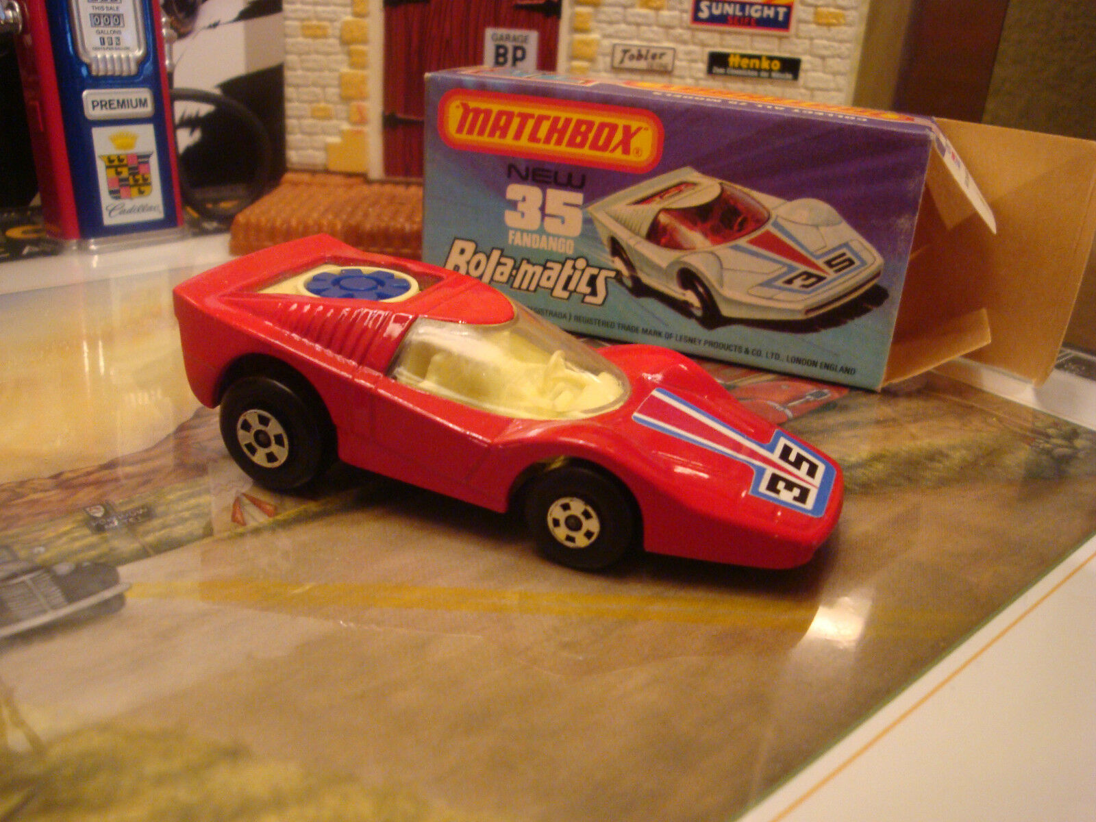 Matchbox  MB35 FANDANGO ROLAMATICS Superfast Lesney England Mint Boxed