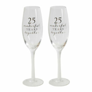 amore-Jeu-de-2-en-boite-de-cadeau-flutes-a-champagne-25th-Anniversary