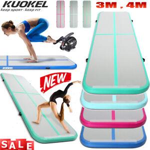 KUOKEL Air Gymnastikmatte Air Trainingsmatten Track Floor Tumbling Turnmatte Mat