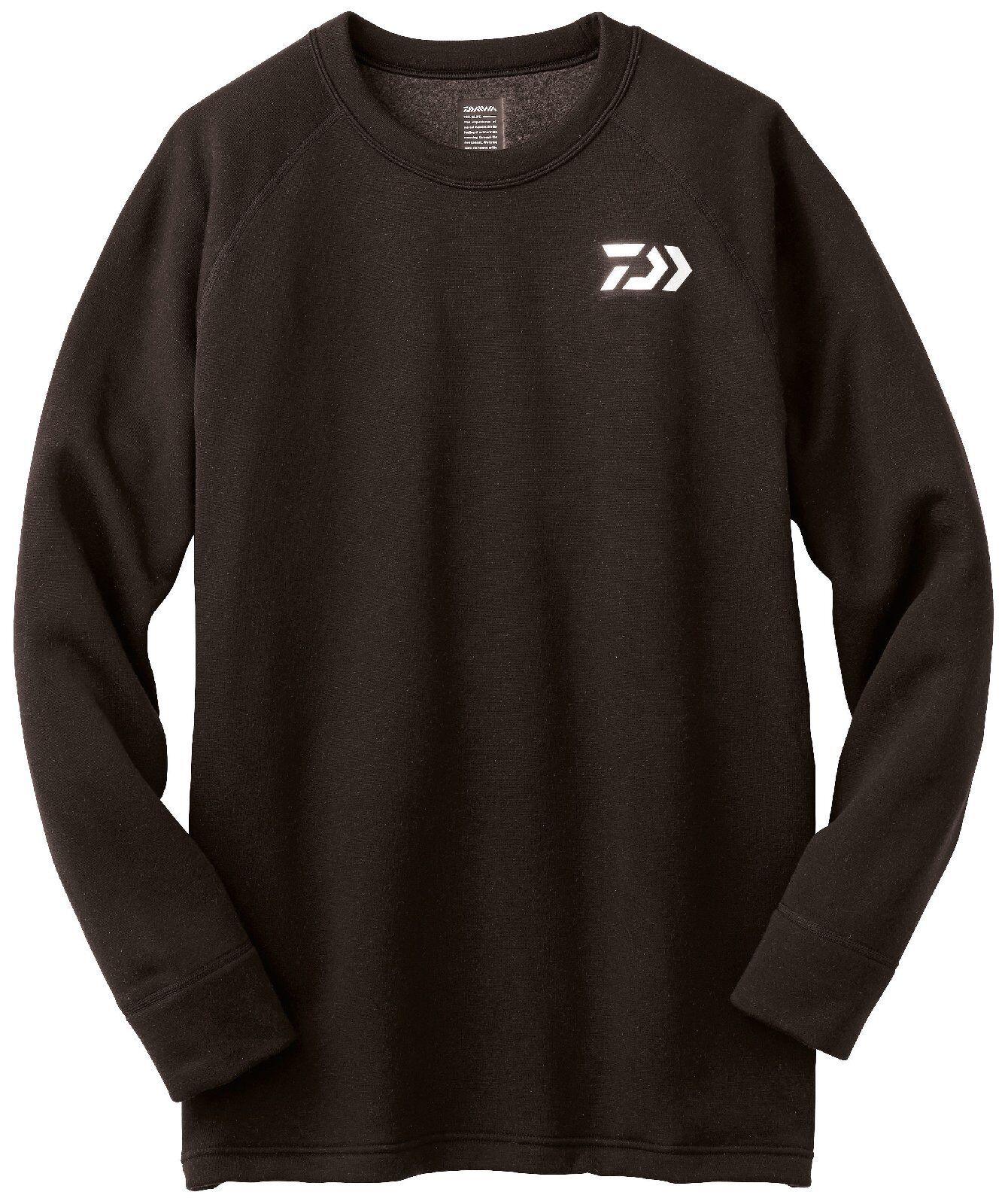 Daiwa Breathmagic Cool Neck Unterhemd 3004S, divertiuominitoktionsShirt, nero