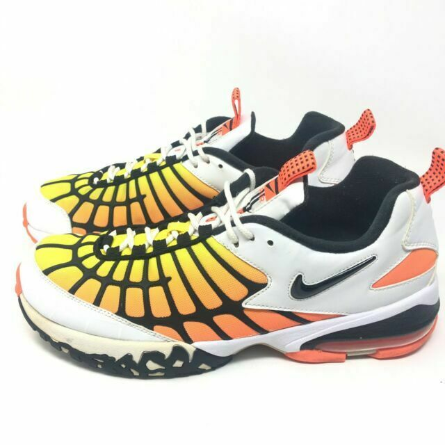 Size 10.5 - Nike Air Max 120 Hyper Orange White