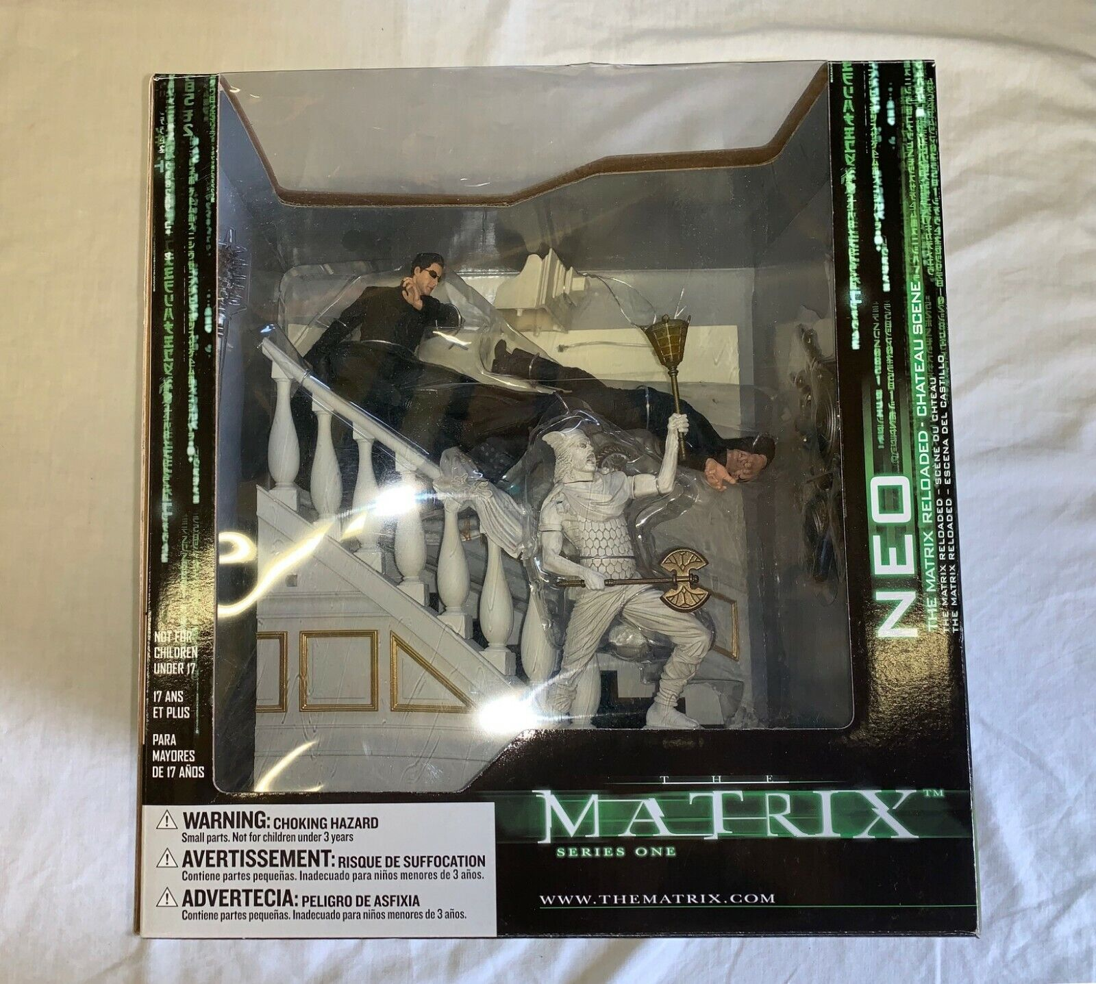 Matrix Reloaded Action Figure Chateau Scene McFarlane Toys Series One Neo