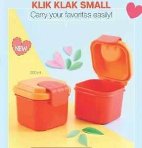 Tupperware Klik Klak Small 250 Ml Kitchen Food Storage Container 1 Pc New Ebay