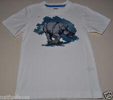 Gymboree boy rhino skater tee shirt size 6 NWT top boys 100% cotton