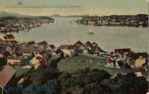 Postcard-Christiansund-from-Nordlandet-Norway