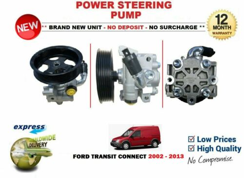 FOR FORD TRANSIT CONNECT VAN 1.8 TDCi Di 2002-2013 NEW POWER STEERING PUMP