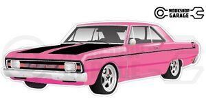 Chrysler-Valiant-VG-Pacer-Hemi-2Door-Pink-with-Momos