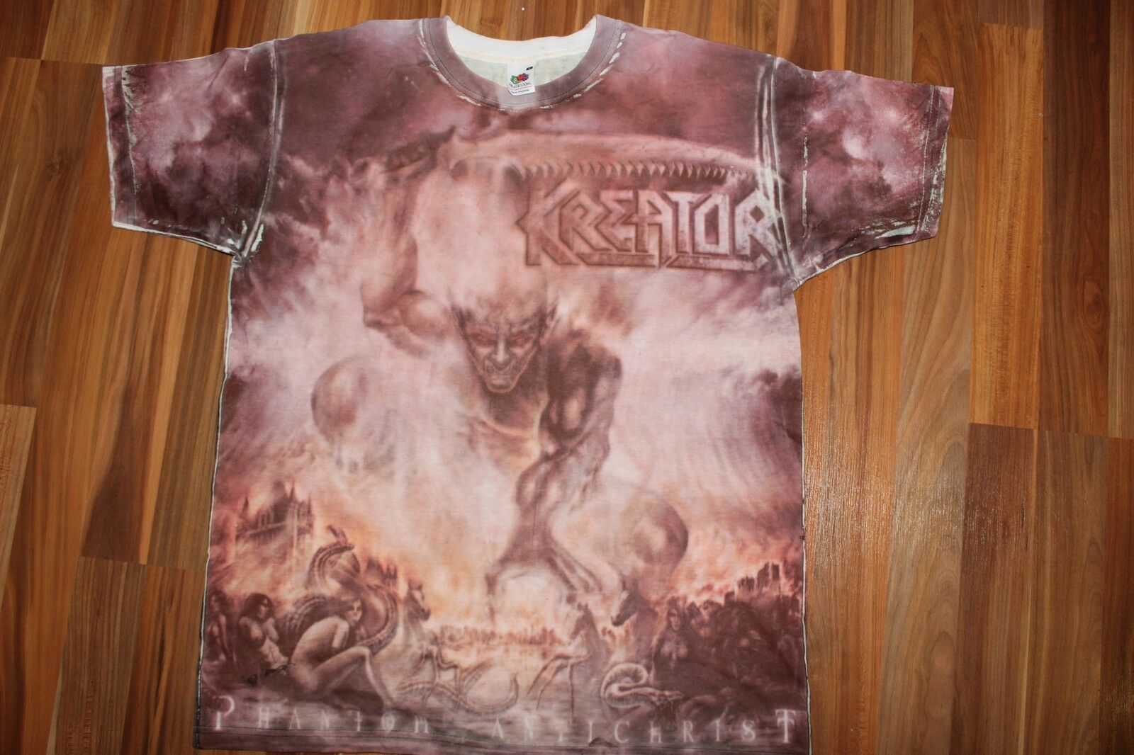 Kreator phantom antichrist all over print sodom metallica destruction slayer metallica sodom dio 433f7a