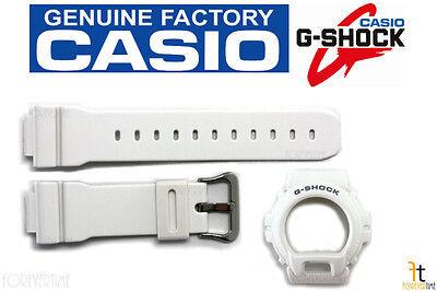CASIO DW-6900MR-7W G-Shock ORIGINAL White BAND & BEZEL Combo