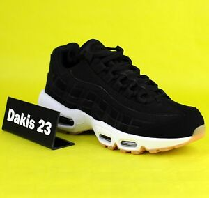 f41f19acf2 Nike WMNS Air Max 95 Women Lifestyle Sneakers New Black Gum 307960 ...