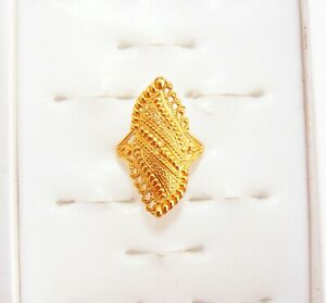 Indian Designer Gold Plated Finger Rings Women Wedding Ring New Fashion Jewelry Ebay