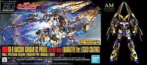 Bandai-Gundam-High-Grade-Unicon-Phenex-DM-N-V-Gold-1-144-Model-Kit-New