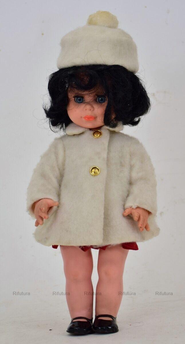 Vintage bambola doll vinile ZZ Zanini Zambelli Abiti originali anni'60 H42cm-1I5