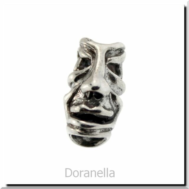 0 RETIRED Authentic Trollbeads Sterling Silver 11142 Five Faces