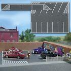 Busch HO Scale Flexible Parking Lot (Road/Asphalt Mat) for Model Trains 7076