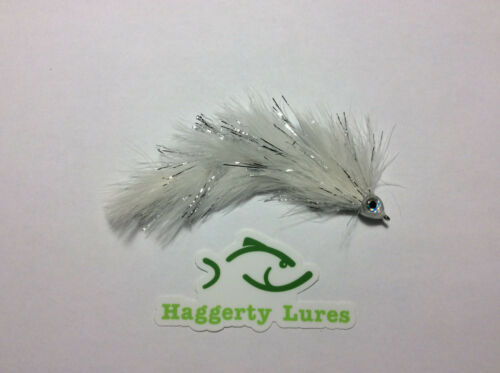 White Marabou Game Changer Articulated Streamer Fly