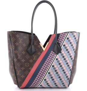 fcd168199 Louis Vuitton Limited Edition Kimono Tote Bag Brown, Navy, Red *RARE ...