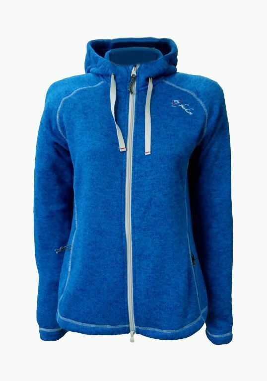 Dy Fashion Fleecejacke Fehmarn hellblau Größe m Windstopper