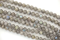 1 Strand Natural Labradorite Round Beads 6mm Glb0007