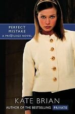 Perfect Mistake (Privilege) - New - Brian, Kate - Paperback