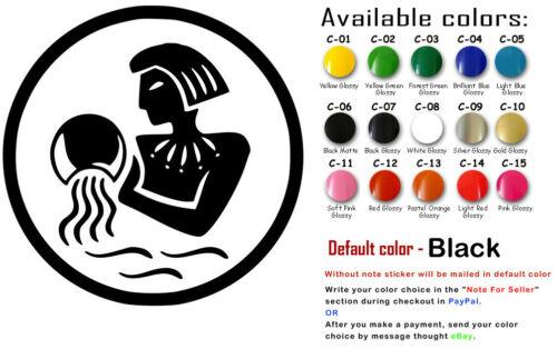 Zodiac Sign Vinyl Decal Stickers Astrological Art Car Window Decor USA Seller