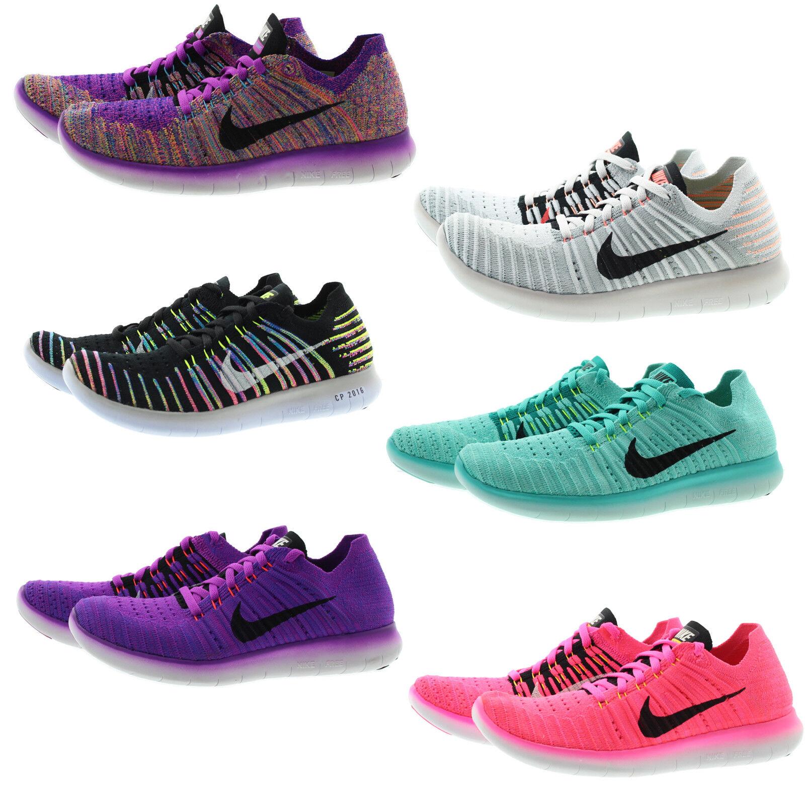 Nike 831070 831070 831070 kvinnor Free RN Flystickade Performance springaning skor skor  fashional butik till salu