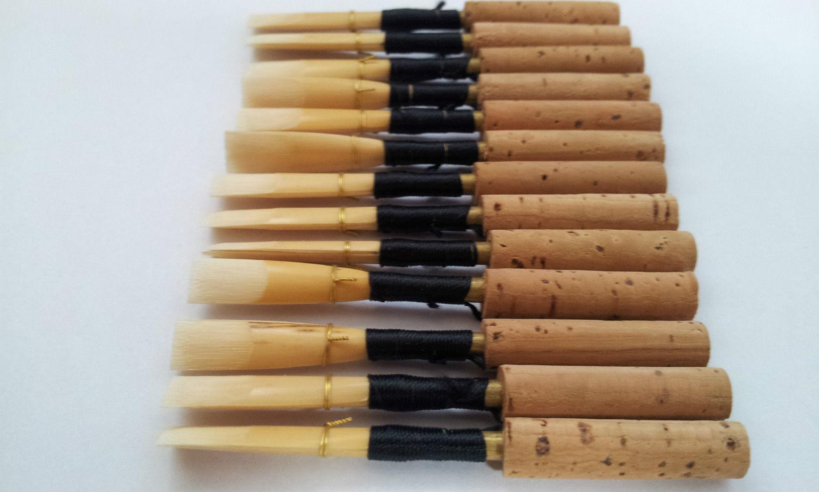 10 Oboe Reeds   Medium-Soft   Guercio AM(Albrecht Mayer)46mm   NEU