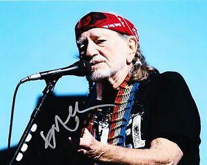 Willie Nelson Autogramm Country Legende Sänger Autograph Bierfest